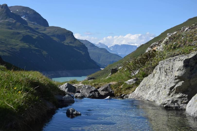 Suisse, Barrage de Moiry 2015